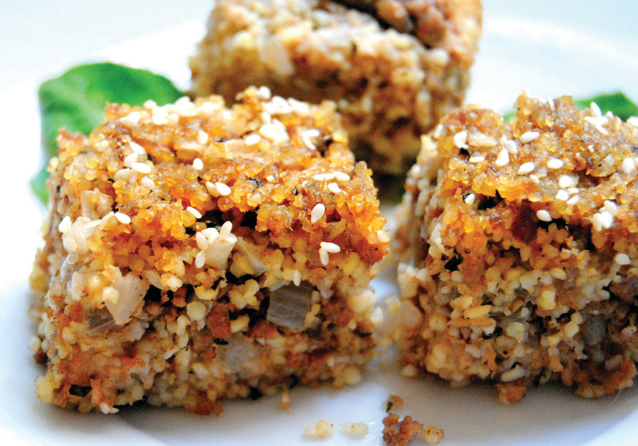 Phyllo pastries with buckwheat and nuts