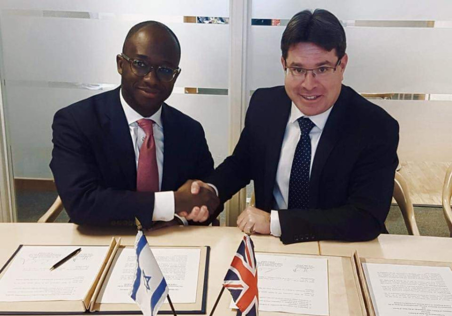 Ofir Akunis (R) and Sam Gyimah (L)
