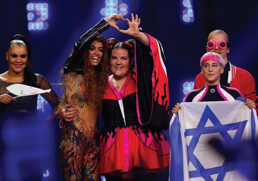 Israel's Netta advances to Eurovision finals