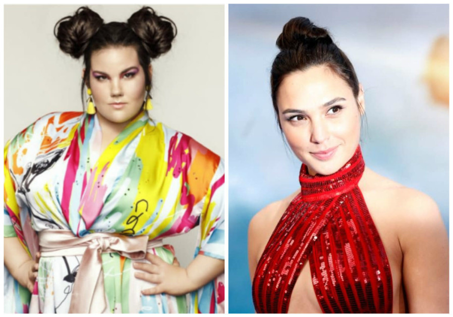 Eurovision winner Netta Barzilai and actress Gal Gadot