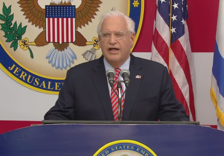 U.S. Ambassador to Israel David Friedman Welcomes public to the New embassy in Jerusalem