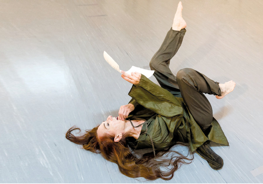 Rina Schenfeld dancing in a 2018 production