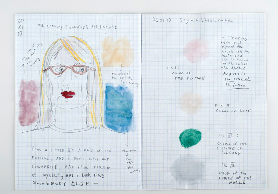 "KRISTIN OMARSDOTTIR featured at Holon's My Dear Diary"" exhibition"