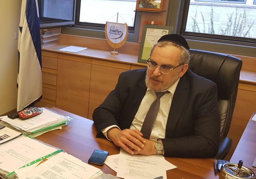 MK Yaakov Asher.