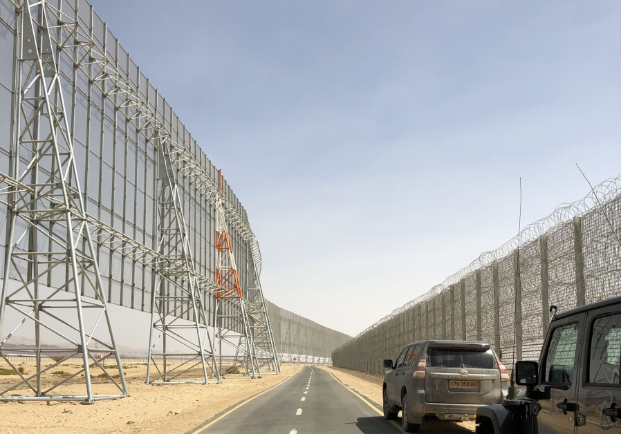 State of the art smart fence to protect future Eilat Ilan and Assaf Ramon International Airport