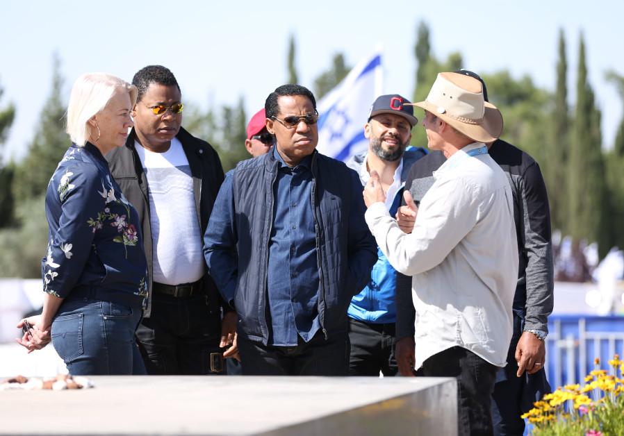 Pastor Chris Oyakhilome visits Mount Herzl, Jerusalem during his Israel visit