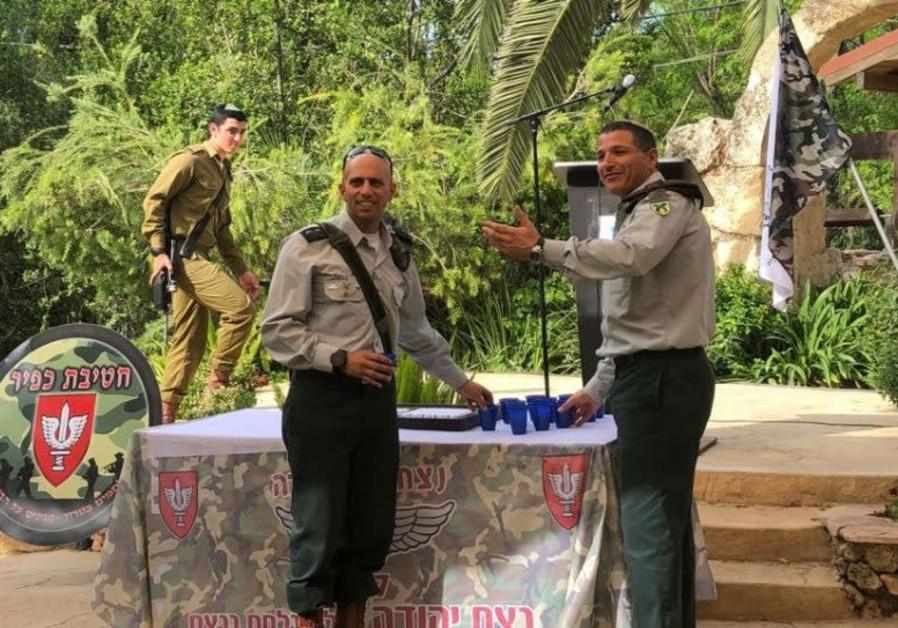 Lt.-Col. Nitai Okashi will be replacing Lt.-Col. Itamar Deshel as IDF's ultra-Orthodox battalion's n