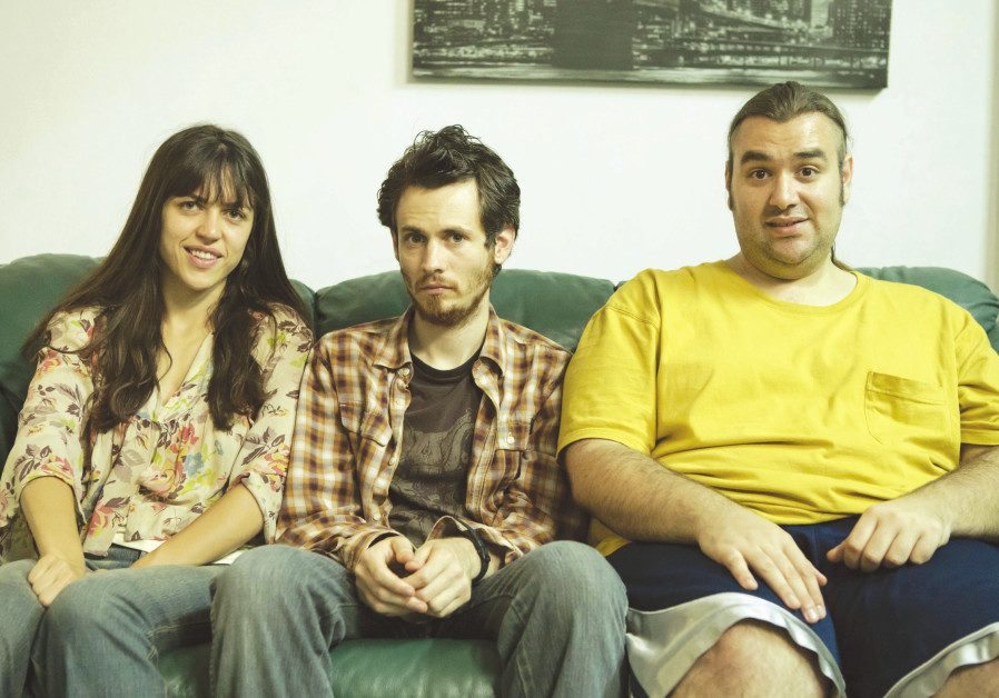 FROM LEFT, Naomi Levov, Niv Majar and Ben Yosipovich of 'On the Spectrum.'