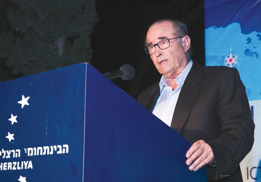 Shabtai Shavit (Credit: Reuters)