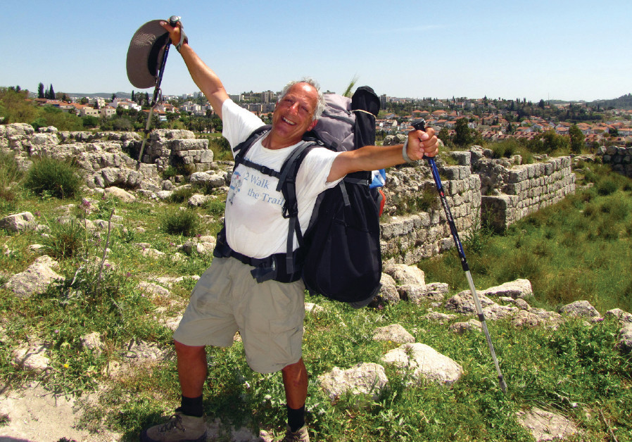 FOR EIGHT weeks the author, Aryeh Green, walked across the State of Israel, rain or shine.