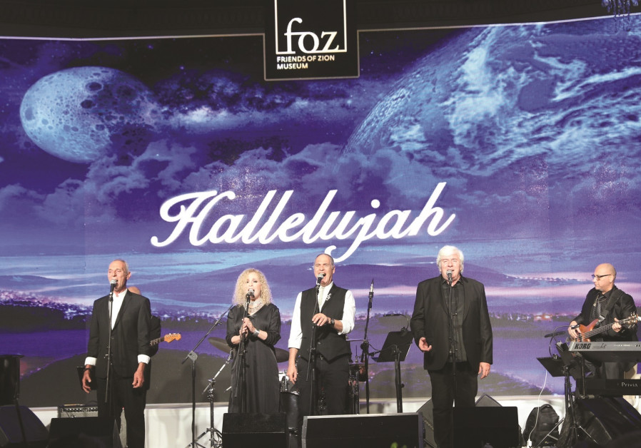 Israeli band performs award-winning song at Friends of Zion event