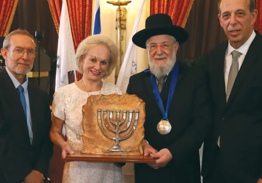 FROM LEFT: Prof. Joshua S c hwartz, director, Ingeborg Rennert Center for Jerusalem Studies.
