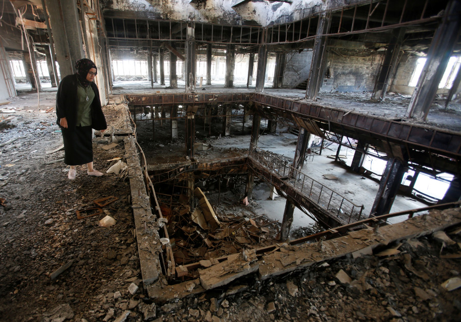 Raghad Hammoudi helps rebuild the Central Library of Mosul University