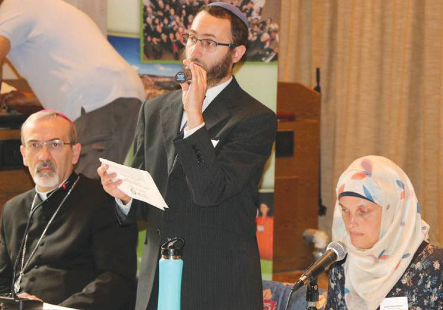 During a breakaway session of the Interfaith Climate Change and Renewable Energy conference in Jerus
