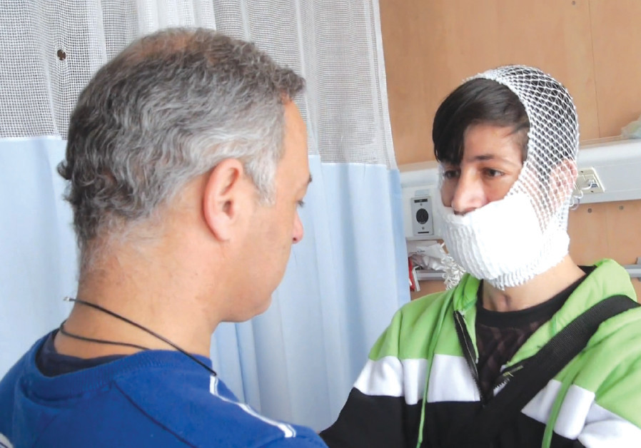 'The Syrian Patient' documents the warm bond that develops between Dr. Eyal Sela and Majid, a wounde