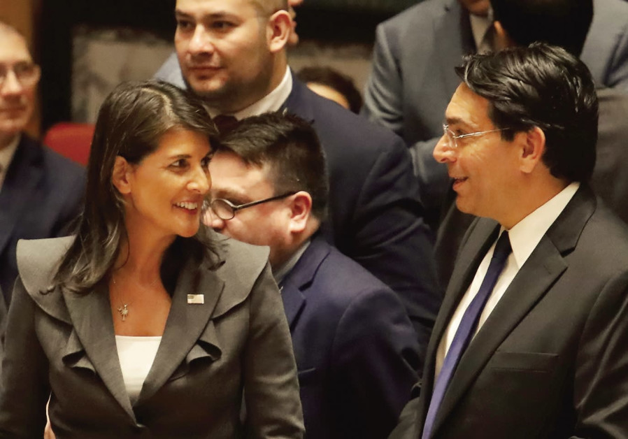U.S. utilizes new U.N. strategy that puts Israel on offensive