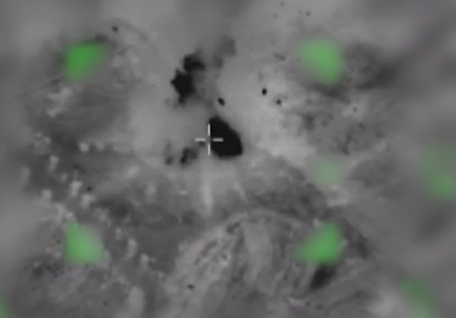 Five rockets launched from Gaza Strip, IDF struck southern Gaza Strip