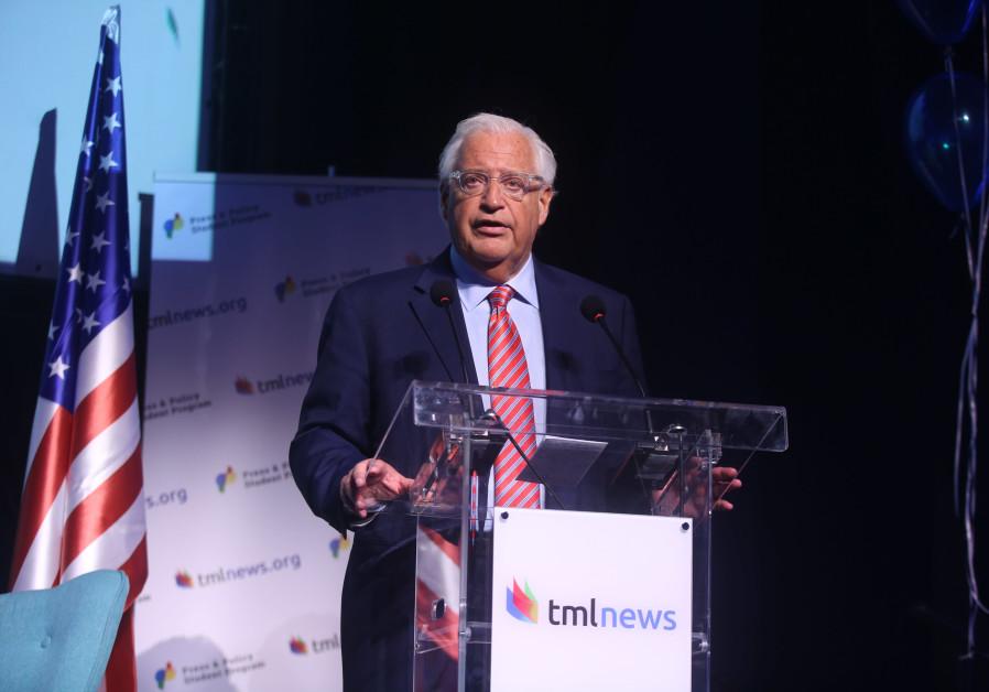 Friedman: PA must choose, is it a political entity or terror sponsor?