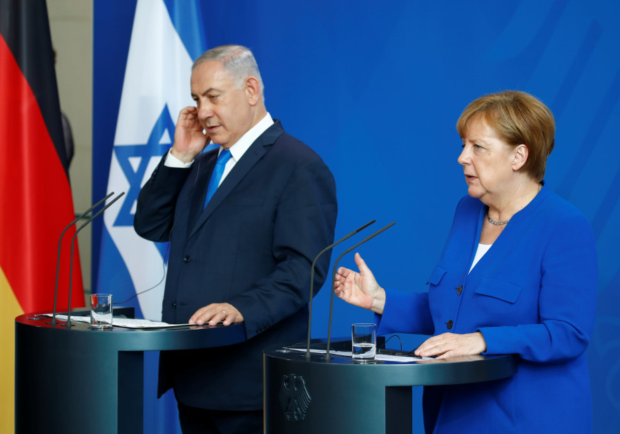 German chancellor's arrival – better late than never