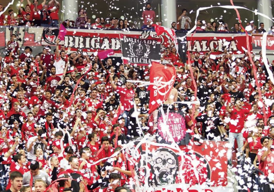 HAPOEL JERUSALEM fans at Malha Arena were thrilled after the Reds pulled out a tight 107-105 victory