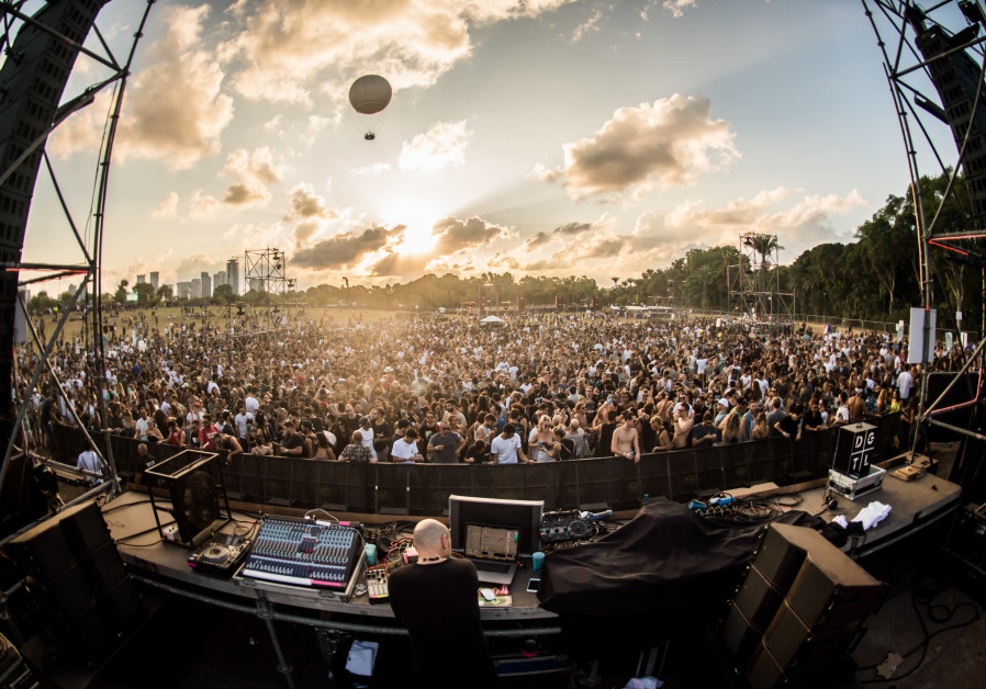 DGTL Music Festival in Tel Aviv, 2017