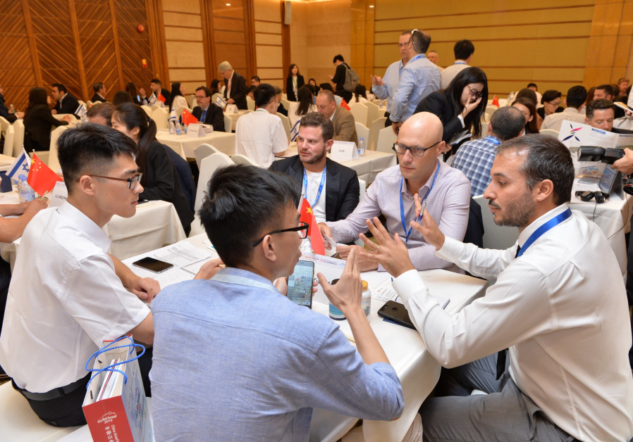 Israeli start-up founders and entrepreneurs met with hundreds of Chinese investors at the GoForIsrae
