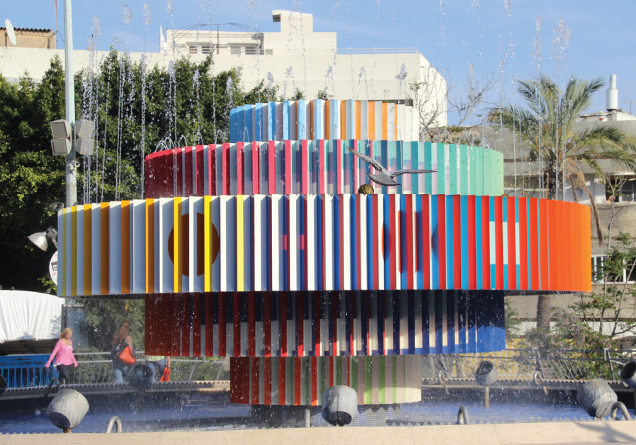ONE OF Agam's most famous – and controversial – works was the fire and water fountain, which he crea