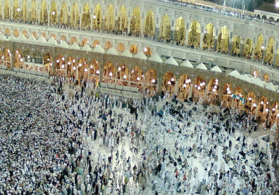 THE GREAT Mosque during Hajj, the annual Islamic pilgrimage to Mecca, Saudi Arabia, in 2007