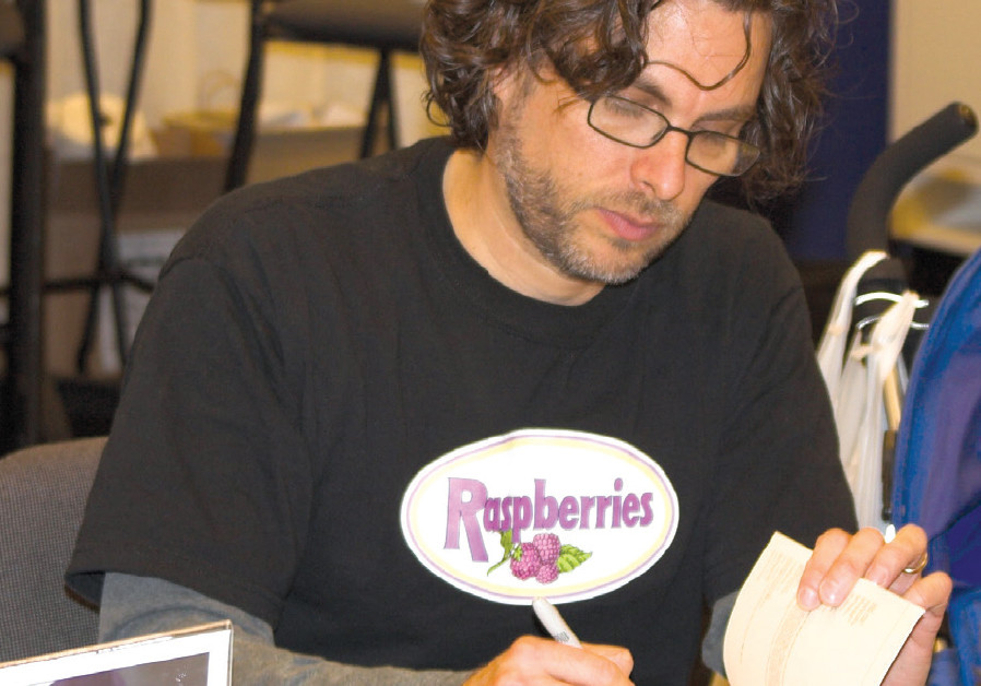 MICHAEL CHABON at a book signing at in 2006