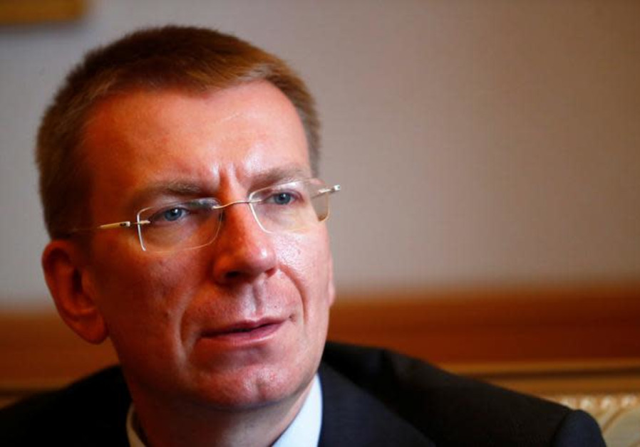 Latvian FM decries 'disproportionate' response to Gaza riots