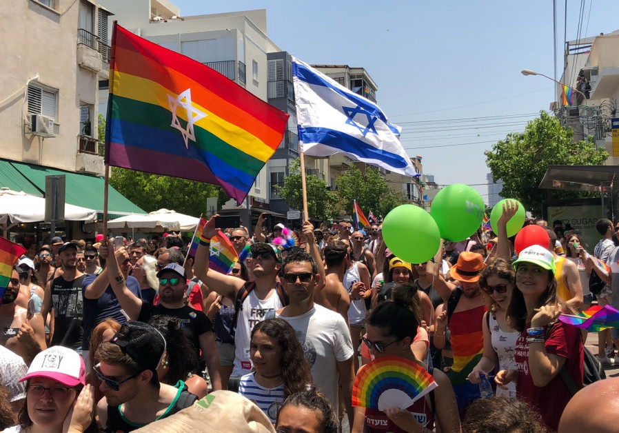 2018 Tel Aviv Pride Parade, June 8, 2018.