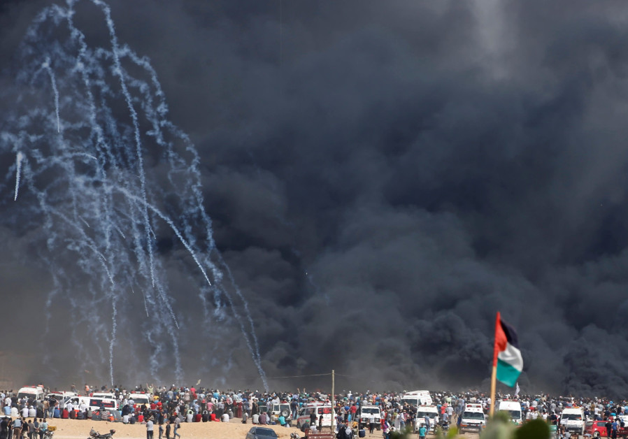 Rocket barrages fired from Gaza after IAF strikes Hamas targets