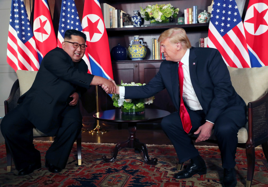 Trump, Kim launch historic Singapore summit with a handshake