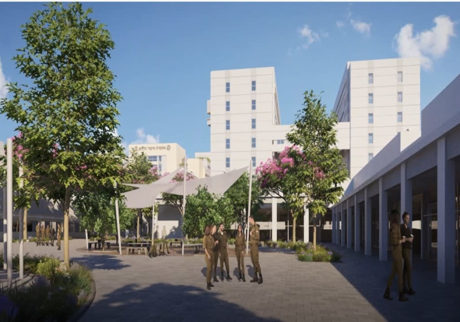 """Some 5,000 IDF soldiers and career offiers are expected to serve on the new tech campus –dubbed a """"s"""