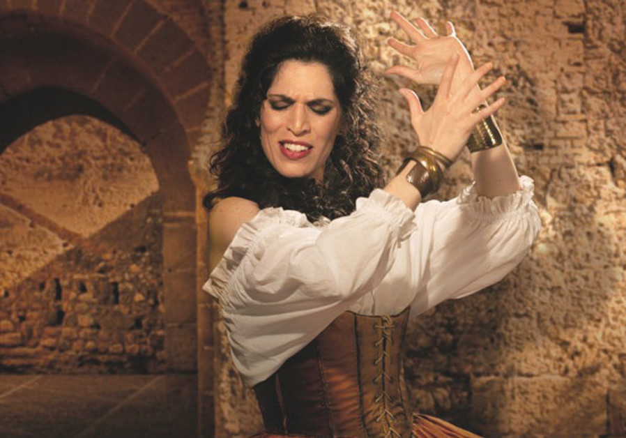 NA'AMA GOLDMAN sings the title role of the tempestuous and seductive Carmen.