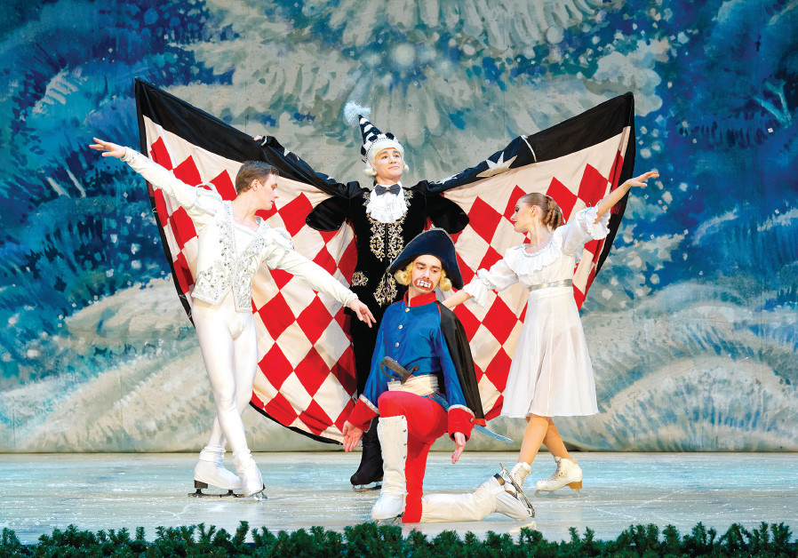 The Saint Petersburg State Ballet on Ice performs 'The Nutcracker on Ice'