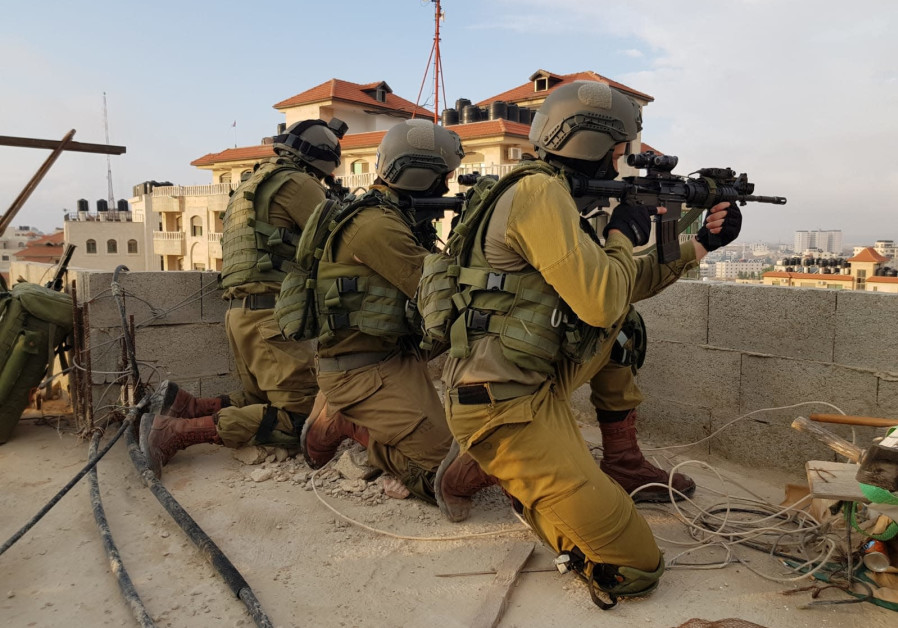 IDF soldiers of the Duvdevan Unit