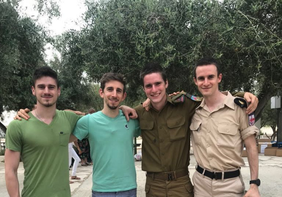 Following in Jesus' footsteps to serve in the IDF