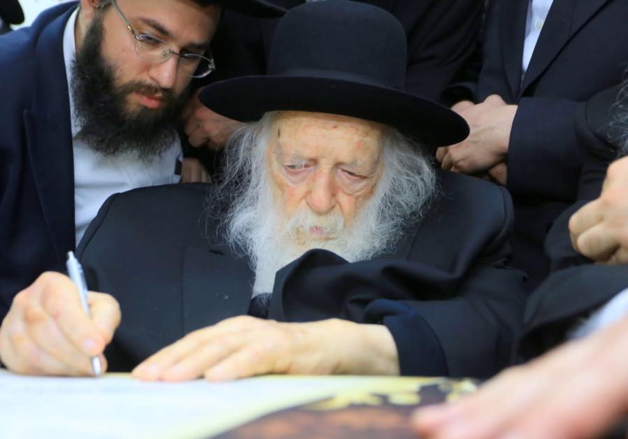 Rabbi Kanievski: haredi enlistment law 'lesser of two evils'