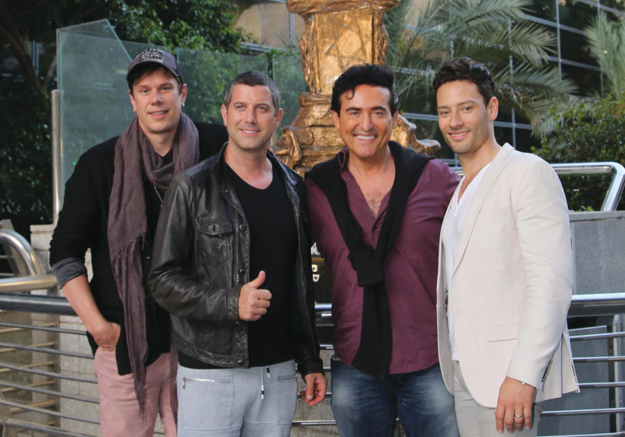 Il Divo arrives in Israel