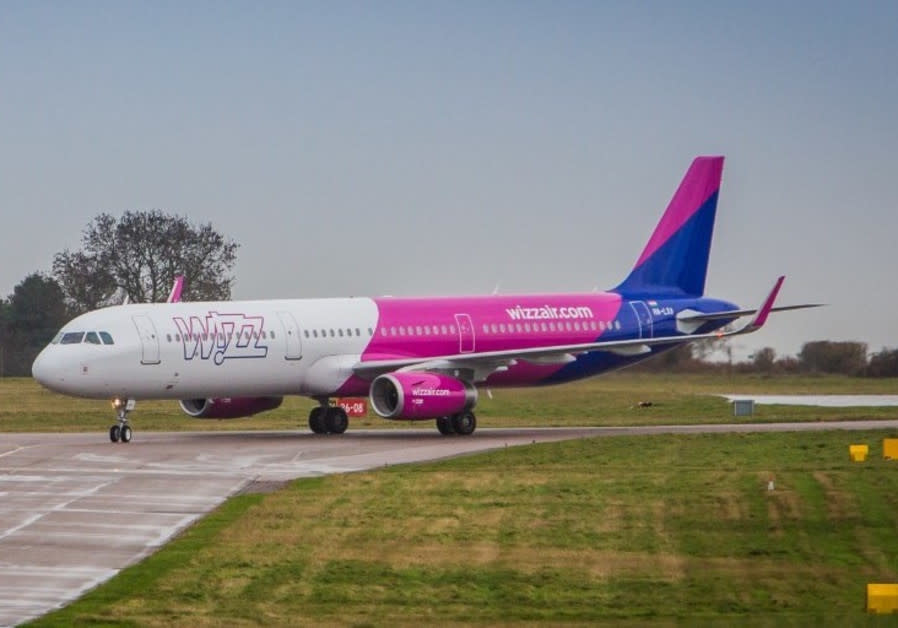 The Wizz Air flights from London to Eilat replace a route serviced by Britain's low-cost Monarch Air