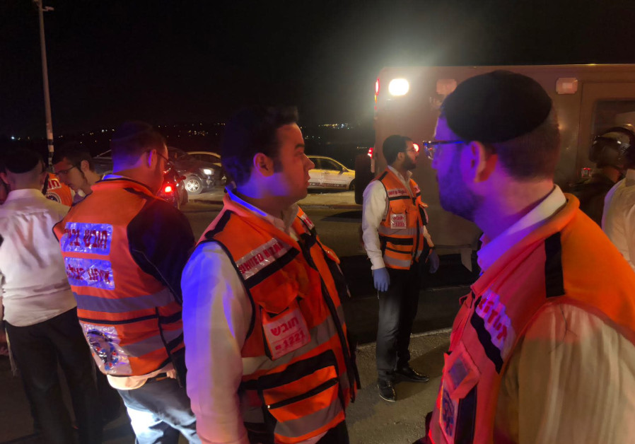Ramming attack near the Palestinian town of Husan, driver fled the scene