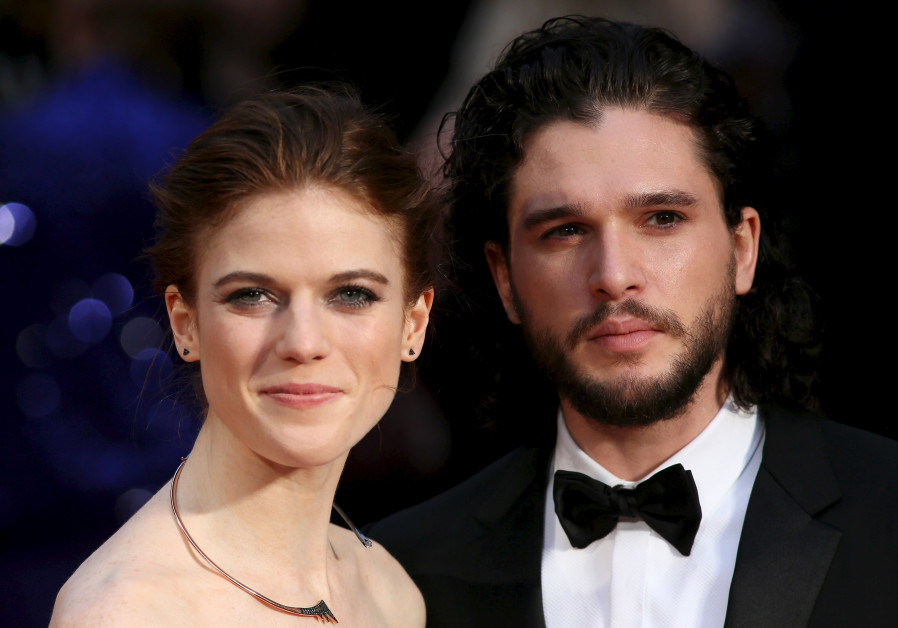 'Game of Thrones' stars Rose Leslie and Kit Harington married in Scotland