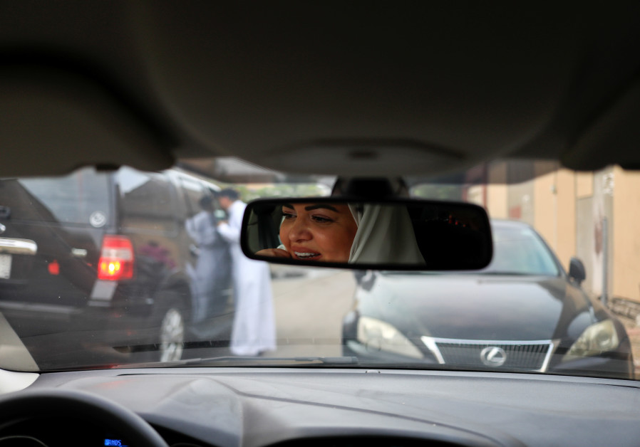 Dr Samira al-Ghamdi, 47, a practicing psychologist, drives around the side roads of a neighborhood