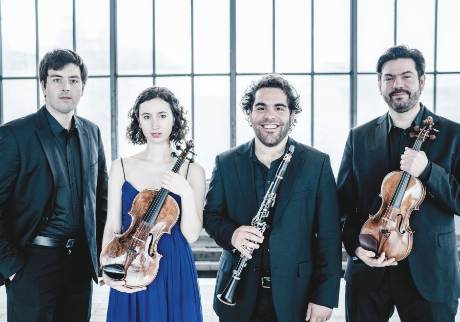 THE NIMROD ENSEMBLE, the Berlin-based quartet, is making its first appearance in the country tonight