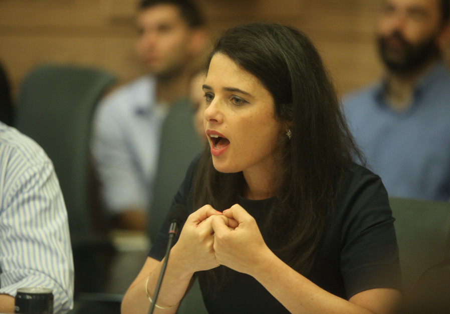 Ayelet Shaked: I May Run for Prime Minister Eventually