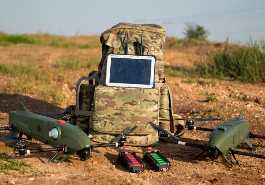 kamikaze Rotem L drone system, June 26, 2018.
