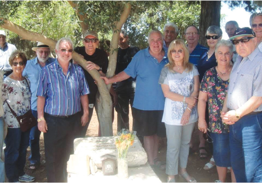 Remembering Sylvia: South African expats visit her grave on Ramat Hakovesh