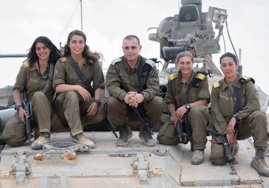 First-ever female tank commanders make IDF history