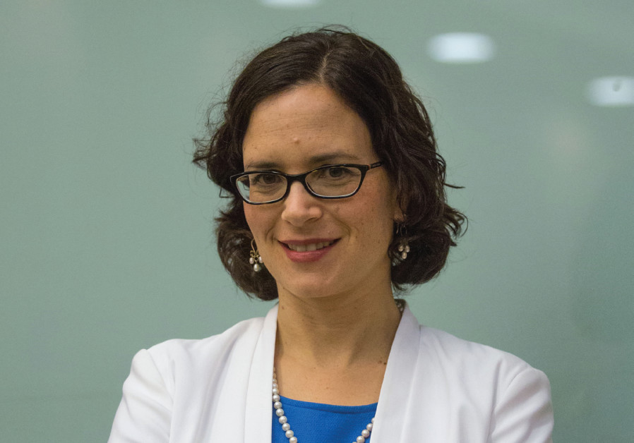 Mayoral candidate and MK Rachel Azaria